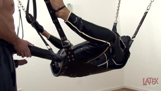 LatexAngel Extreme Latex Kink HorsecockDildo Fucking XXX